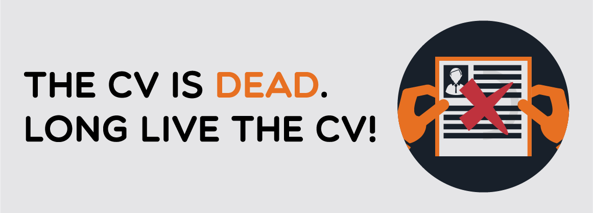 The CV is Dead. Long Live the CV!