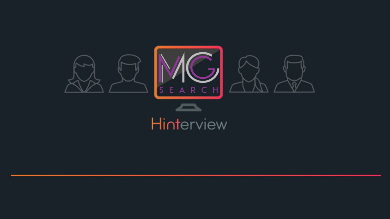 Does video work in Executive Search? MG Search think so!